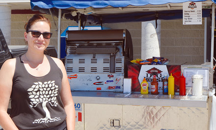 {Blyth woman opens hot dog cart for summer months - May 31, 2018}